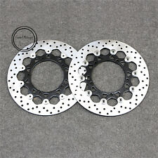 Floating Front Brake Disc Rotor For Yamaha FAZER FZ1 1000 06-14 & YZF-R1 04-06