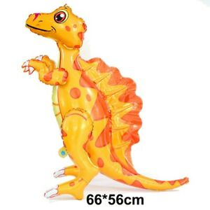 Dinosaur Foil Balloon Birthday Decor Party Supplies Kids Boys Baby Shower Toys