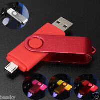 Swivel 64GB USB 2.0 Flash Memory Key Stick Pen Drive lOT Storage Thumb U Disk