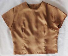 Ladies vintage 1940s 1950s blouse Faraday London short-sleeved  womens top BS38