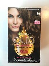 Garnier Olia 6.0 Light Brown Hair Color 60% Oils NO Ammonia New