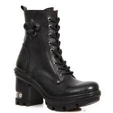 New Rock Schuhe Damen- Stiefelette Stiefel Absatz Boots Gothic M-NEOTYRE07-S1