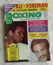 BOXING ILLUSTRATED Magazine ~ June 1974 ~ MUHAMMAD ALI / Foreman ~ EXCELLENT