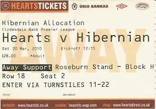 2009/10 League March Hearts v Hibs