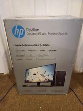 "HP Pavilion 590-p0103wb 23.8"" FHD AMD Ryzen 3 8GB 1TB HDD Desktop PC & Monitor"