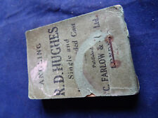 VINTAGE ANGLING FLICKER BOOK SHOWING CASTING ADVERTISING FARLOW'S FISHING SHOP