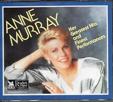 Anne Murray - Greatest Hits & Finest Performances - RARE Readers Digest CD  Box