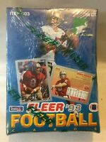 1993 FLEER FOOTBALL CARDS FACTORY SEALED WAX BOX 36 CT *NEW* UNOPENED