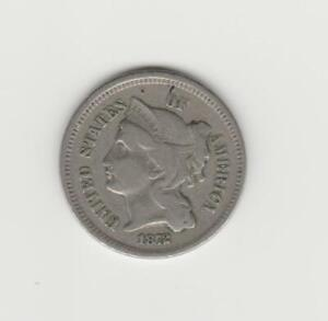 USA 1872 3 CENT NICKEL