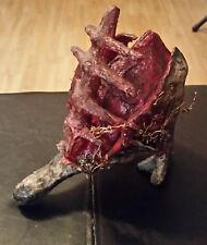 The failings of the flesh - Retro paper machete art, unique noir sculpture