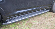 NEW PORT ACCESSORY TOYOTA HIGHLANDER BRUSHED STAINLESS STEEL RUNNING BOARDS