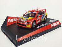 "SCX Scalextric Slot Ninco 50401 Mitsubishi Lancer WRC ""Catalunya-Costa Daurada"""