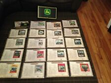 John Deere Patch Collection by Willabee & Ward In Binder Book 19 Patches Lot