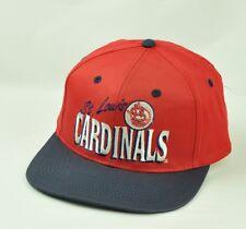 MLB St.Louis Cardinals Ancco Constructed Snap Back Mens  Flat Bill Adjustable