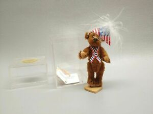 Little Gem Miniature Teddy Bear Linda Mullins TR for President