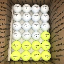 New listing 24 TITLEIST TOUR SOFT- MINT-AAAAA- Used Golf Balls. PRIORITY SHIPPING!