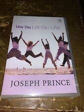 NEW Joseph Prince LIVE The LET GO LIFE 5 CD Set Sealed