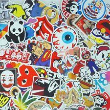 300Pcs  Stickers Skateboard Sticker Graffiti Laptop Luggage Car Decals Free Ship