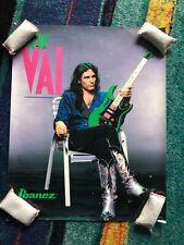 Ultra-rare Steve Vai 1987 Ibanez Jem promotional poster