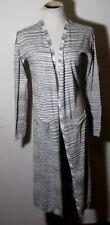 Women's LUCKY BRAND Gray Long Cotton Blend Cardigan Sweater Size XS NWT