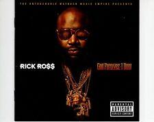 CD RICK ROSSGod forgives I don't EX 2012 EU (A0572)