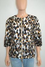 NWT Roberto Cavalli Leopard Print Rain Jacket/Coat/Windbreaker Sz 42 $2250