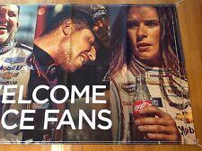 Coca Cola NASCAR Family  (NEW) ,Ryan, Denny, Danica , Toney , Austin , Joey ,