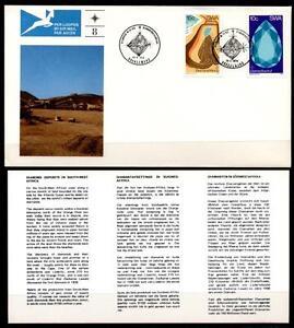 Mineralien. Diamantenbergbau. FDC. SWA (Namibia) 1974
