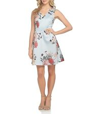 CeCe by Cynthia Steffe Rose Floral-Print Dress