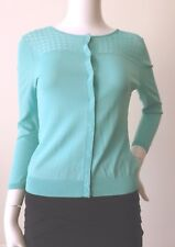 DAVID LAWRENCE 3/4 Length Sleeve Snap Button Cardigan   Size XS - Small