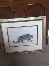Mark Linley Original Painting Of Leopard