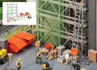 Fordhampton Building Site Accessories - OO/HO plastic kit Gaugemaster GM417