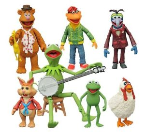 The Muppets Select Action Figures Multi-Pack Series 1 Set of 3 MOC