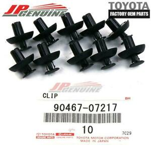 GENUINE TOYOTA LEXUS SCION OEM ENGINE COVER TRIM CLIPS SET OF 10 90467-07217
