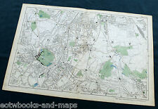 LONDON, 1900 - SYDENHAM, PENGE, BROMLEY - Original Antique Map