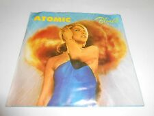 """Blondie Atomic/ Die Young Stay Pretty Vinyl  7"""" 45 RPM Picture Sleeve 1980 NM+"""