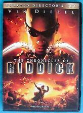 CHRONICLES OF RIDDICK (widescreen DVD, Director's Cut) Vin Diesel, Karl Urban