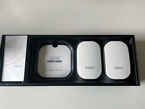 EERO 2ND GENERATION HOME WIFI BEACONS.  TWO!  BRAND NEW!