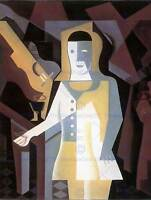 JUAN GRIS PIERROT OLD MASTER ART PAINTING PRINT POSTER REPRODUCTION 1750OM