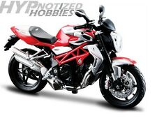 MAISTO 1:12 MOTORCYCLE MV AGUSTA BRUTALE 1090 RR RED/SILVER 20-11097RDSIL