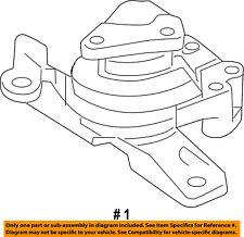 genuine oem motor mounts for ford taurus ebay. Black Bedroom Furniture Sets. Home Design Ideas