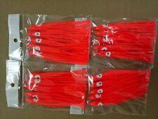 50pcs 12cm soft lure ,squid jig  plastic octopus lure,fishing skirt.red colour