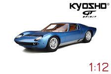 1:12 Kyosho Lamborghini Miura GTS12501BL NEW Free Shipping