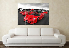 AA300 Photo Picture Poster Print Art A0 A1 A2 A3 A4 RED SUPERCAR CAR POSTER