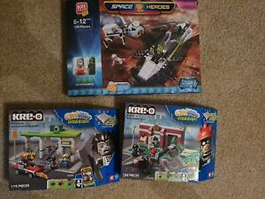 Kre-O / Kreo CityVille space heroes sets BRAND NEW & SEALED