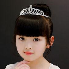 Cute Little Rhinestone Princess Birthday Tiara Crowns Comb Pin for Girls Kids