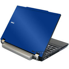 BLUE Vinyl Lid Skin Cover Decal fits Dell Latitude E4300 Laptop