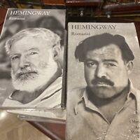Hemingway Romanzi 2 volumi I Meridiani Mondadori No Edicola