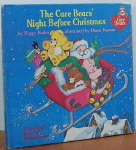 Care Bears' Night Before Christmas (Care Bear Books) by Kahn, Peggy Hardback The