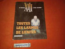 """XIII """"TOUTES LES LARMES DE L'ENFER/SPADS"""" DOUBLE ALBUM W.VANCE J.VAN HAMME BD"""